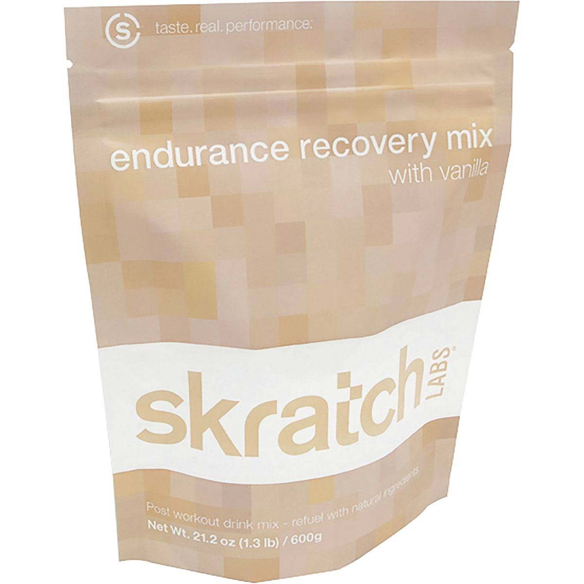 Skratch Labs Endurance Recovery Mix - Vanilla, 12 Servings