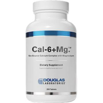 Douglas Laboratories - Cal-6 + mg - 250 Tablets