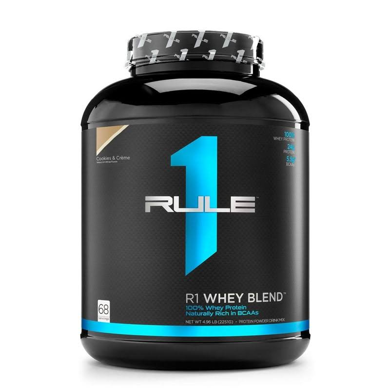 Rule One Proteins R1 Whey Blend 70 Serv Caf