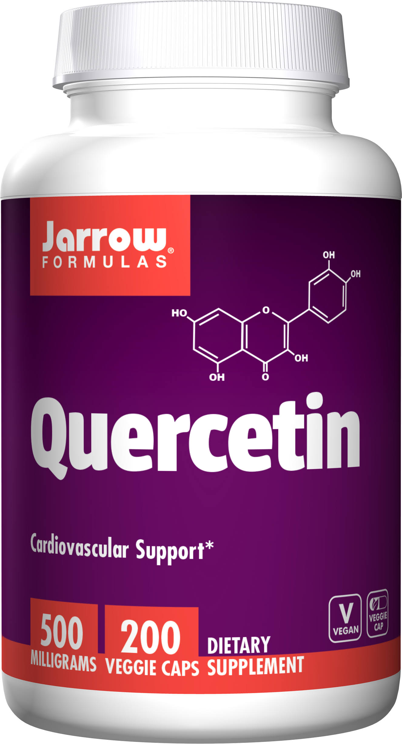 Jarrow Formulas Quercetin Dietary Supplement - 200 Capsules