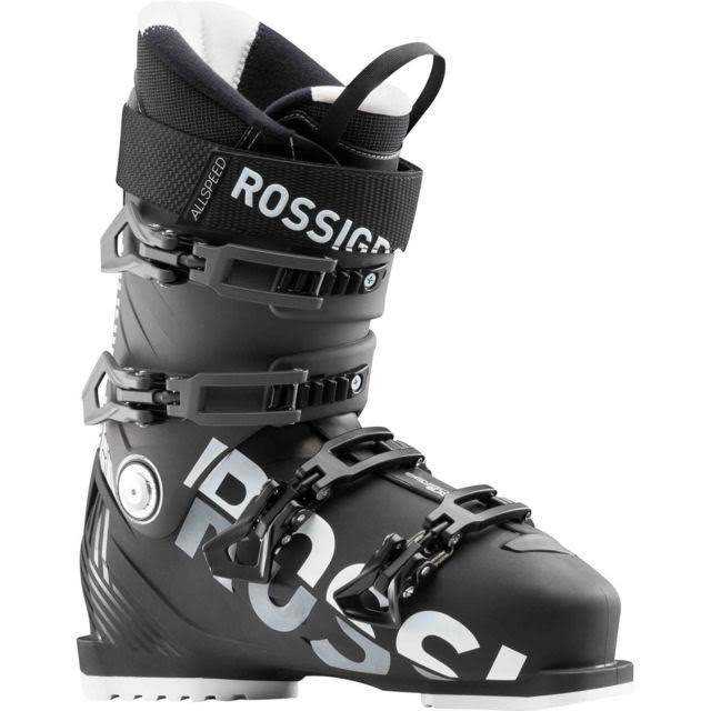 Rossignol Mens AllSpeed 80 Ski Boots - Black/Dark Grey, 11.5 US