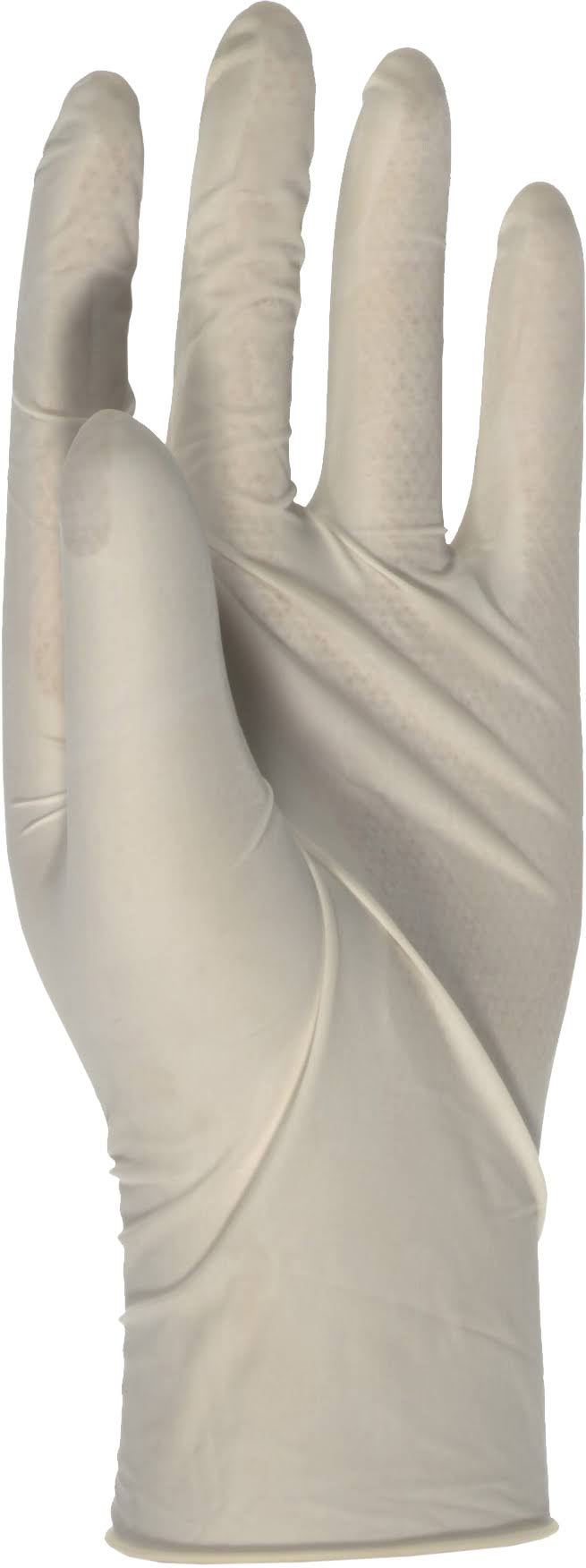 Boss Disposable Latex Gloves - White, Bag of 10