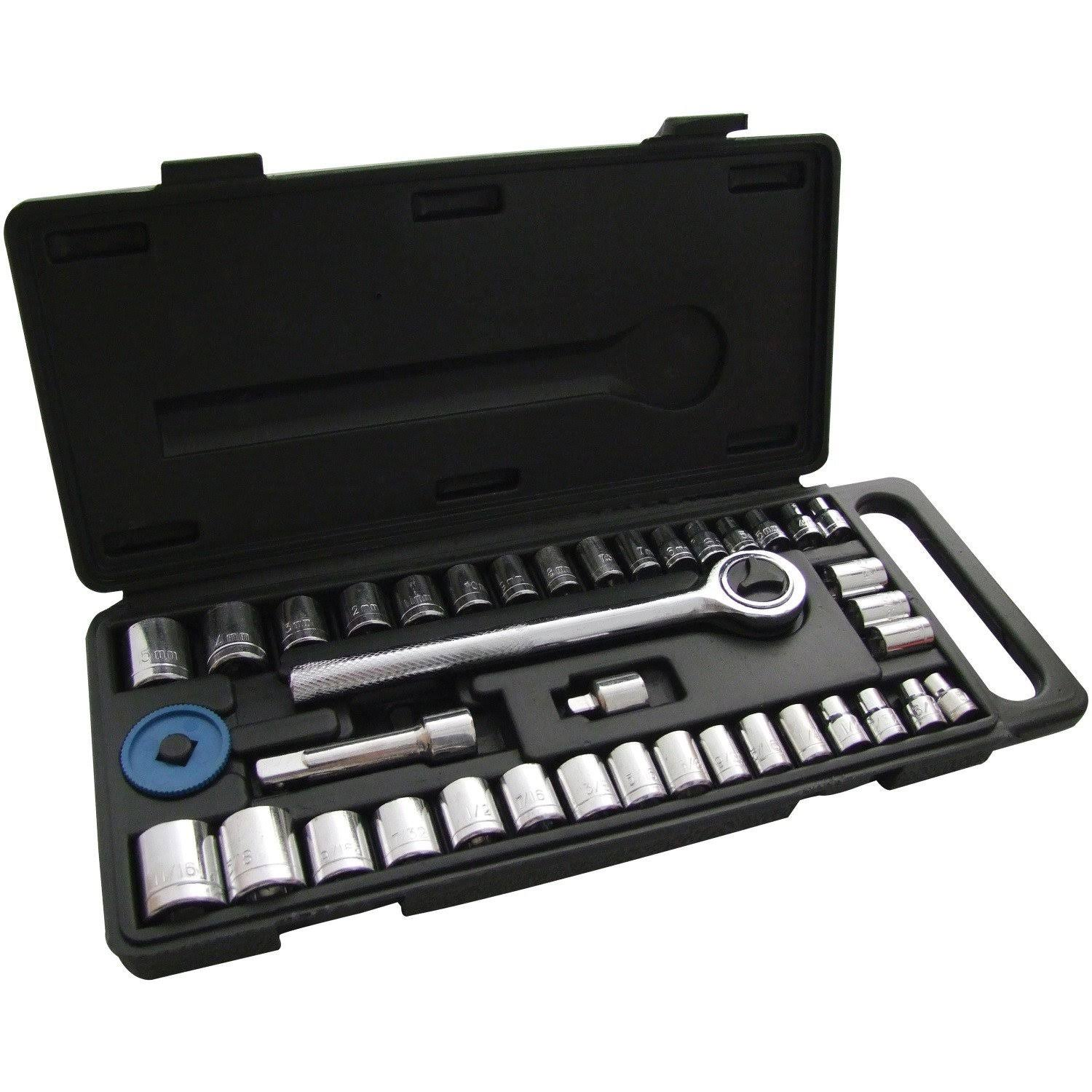 Am-Tech Socket Set - 40 Pieces
