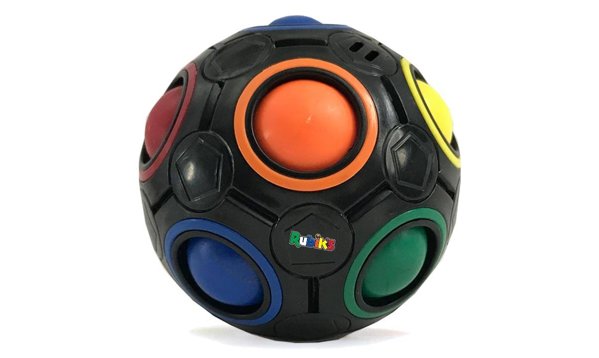 Rubik's Rainbow Ball Black