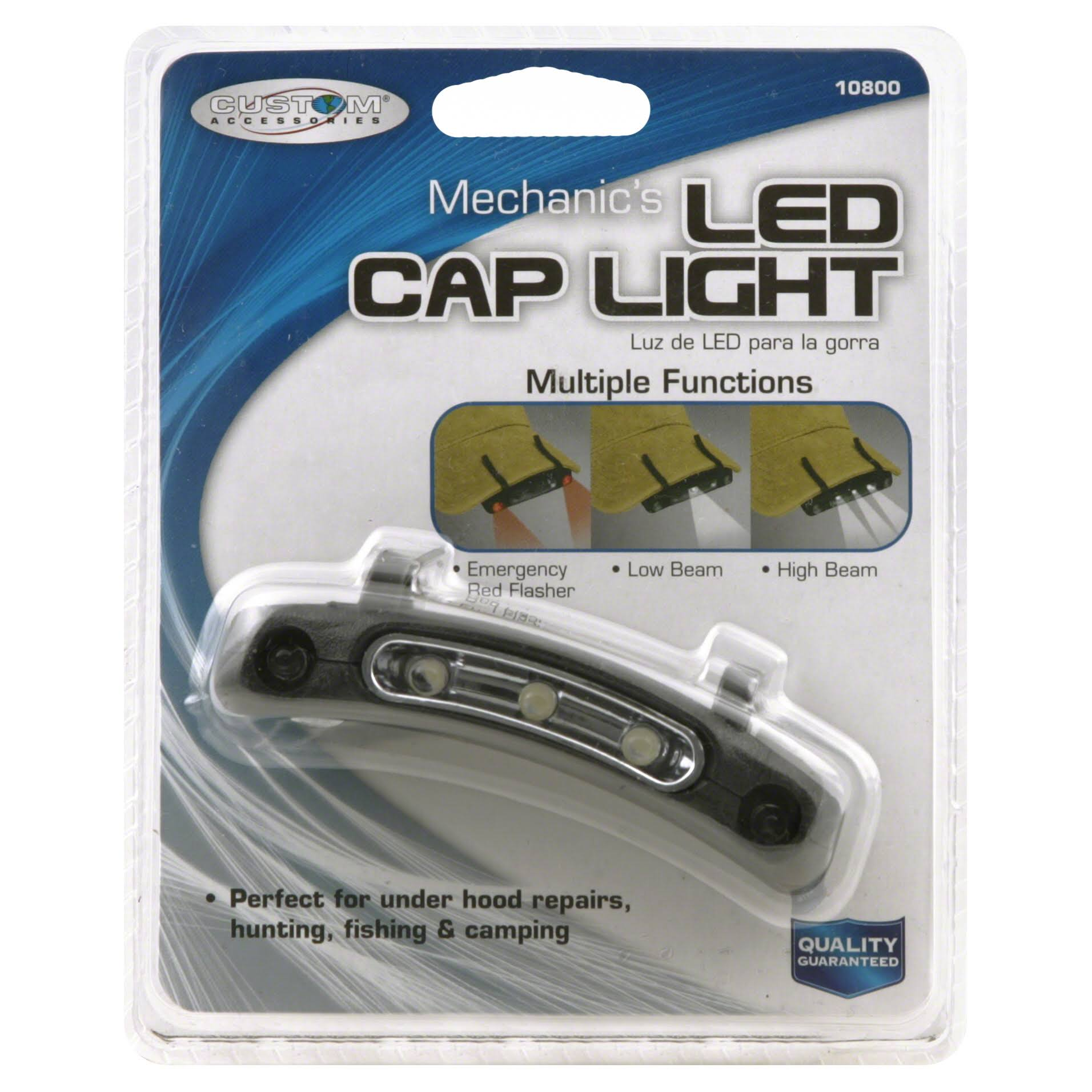 Custom Accessories Mechanics LED Cap Light