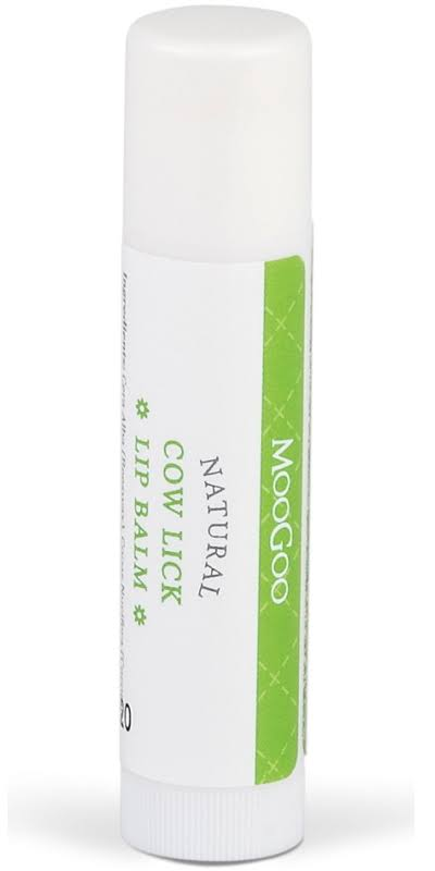 MooGoo Natural Cow Lick Lip Balm 5G