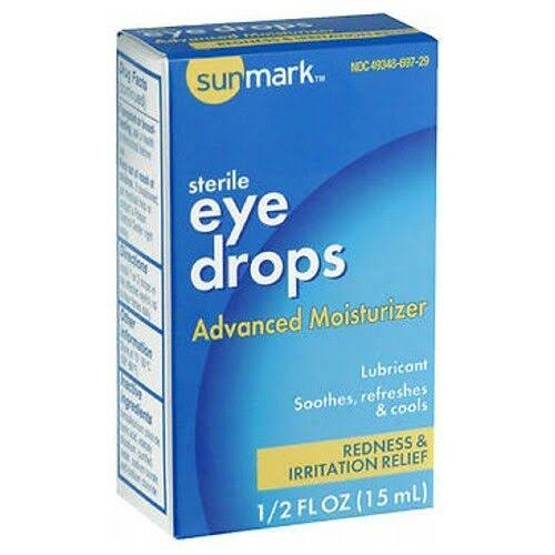 Sunmark Eye Drops Advanced Moisturizer