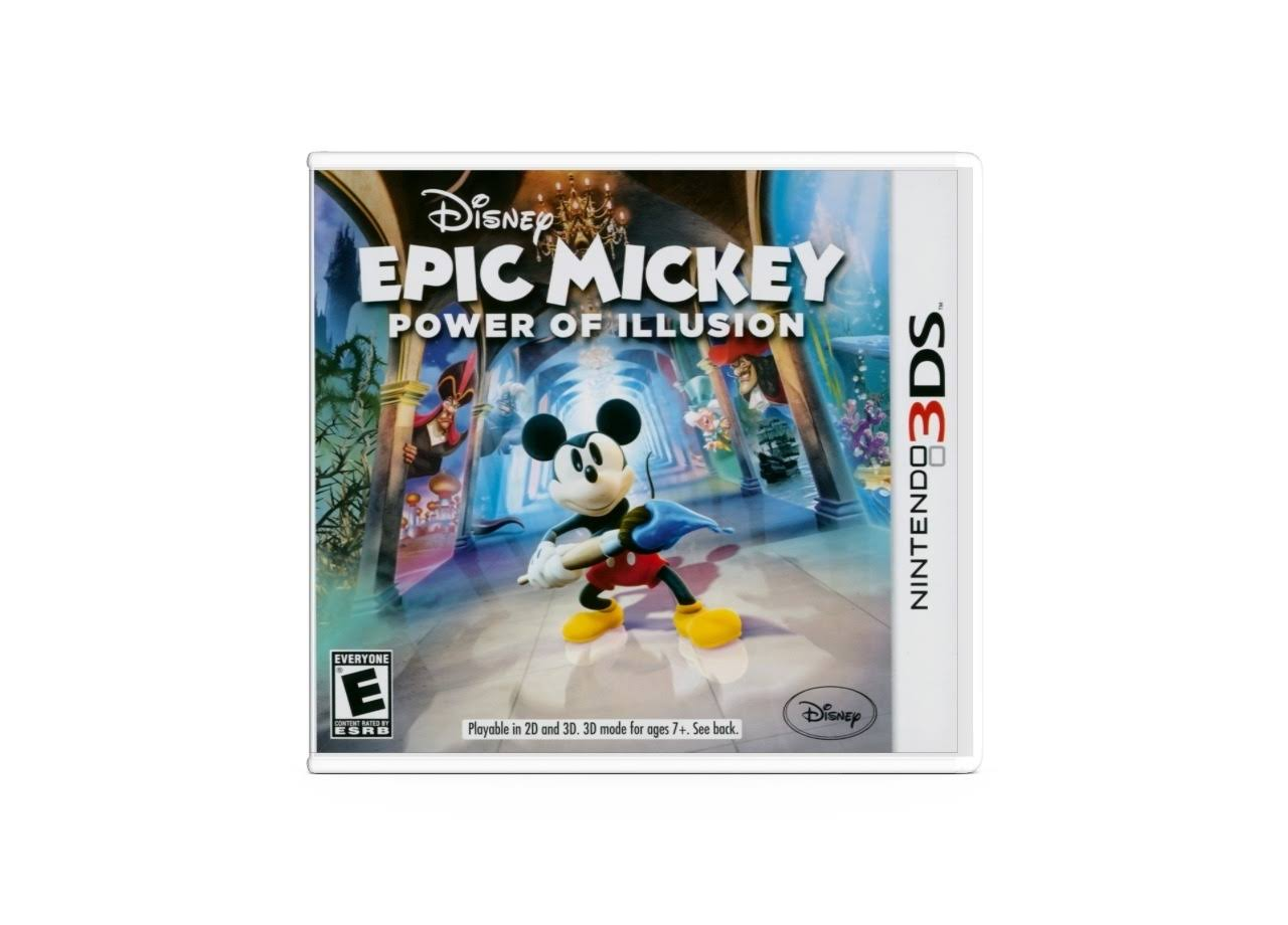 Epic Mickey: Power of Illusion - Nintendo 3ds