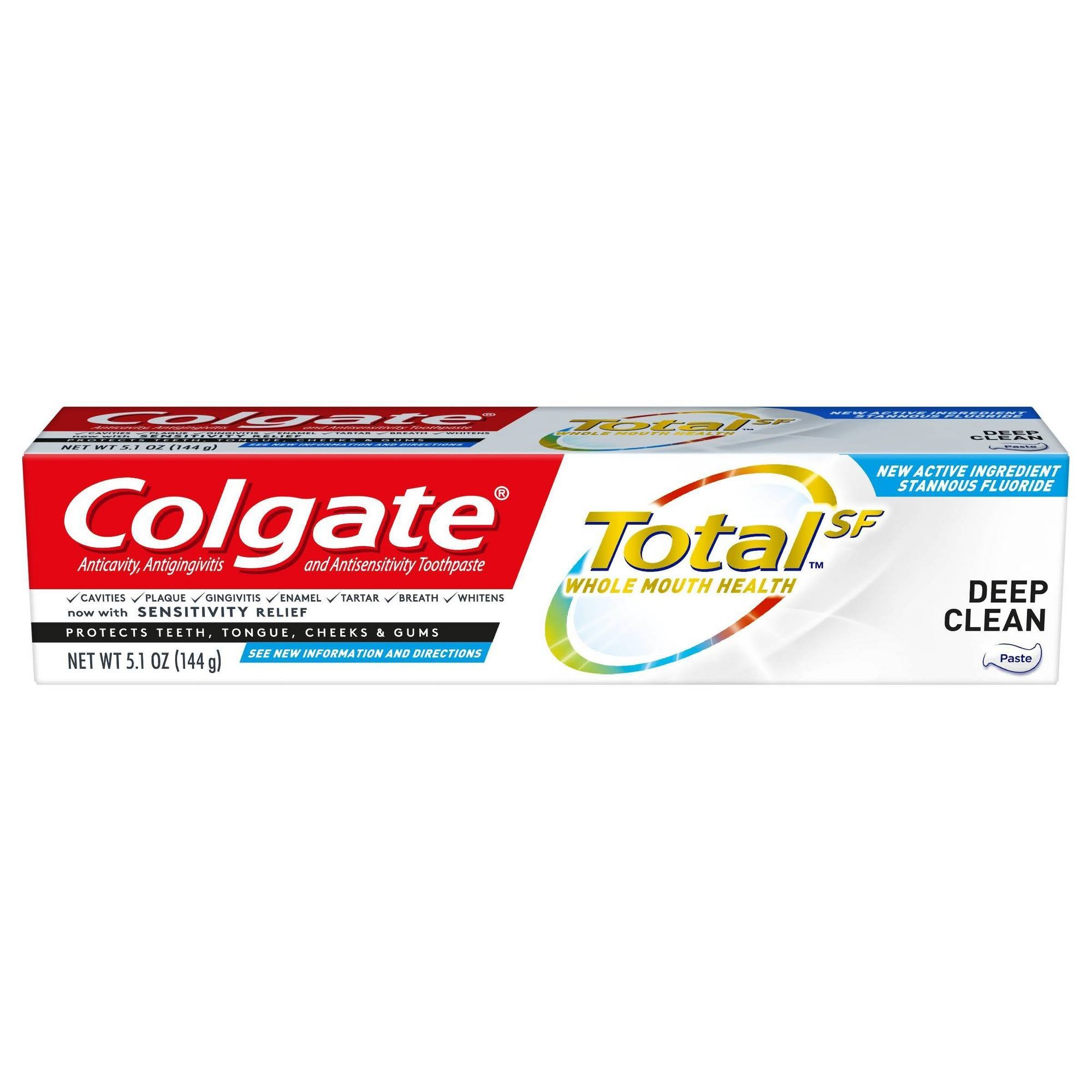 Colgate Total Deep Clean Toothpaste - 5.1 oz
