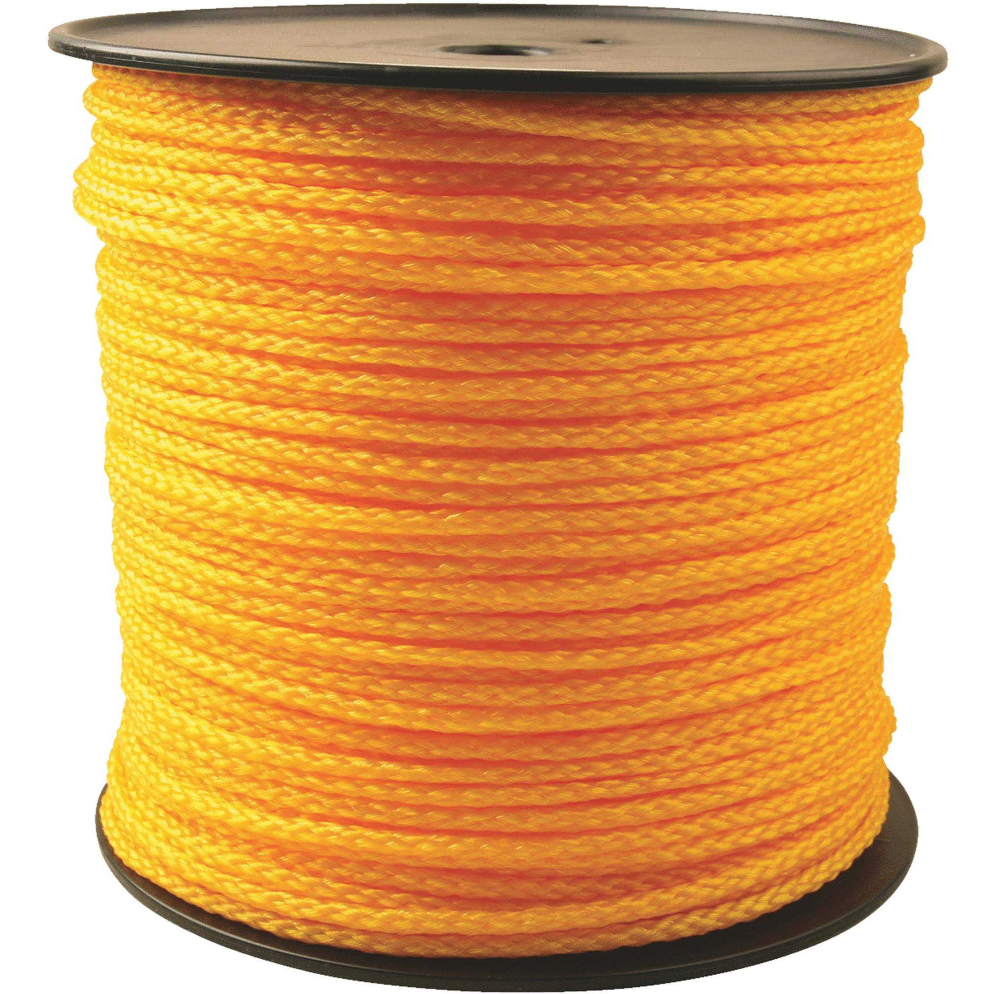 "Do it 707113 Braided Polypropylene Bulk Rope - 1/4""x1000'"