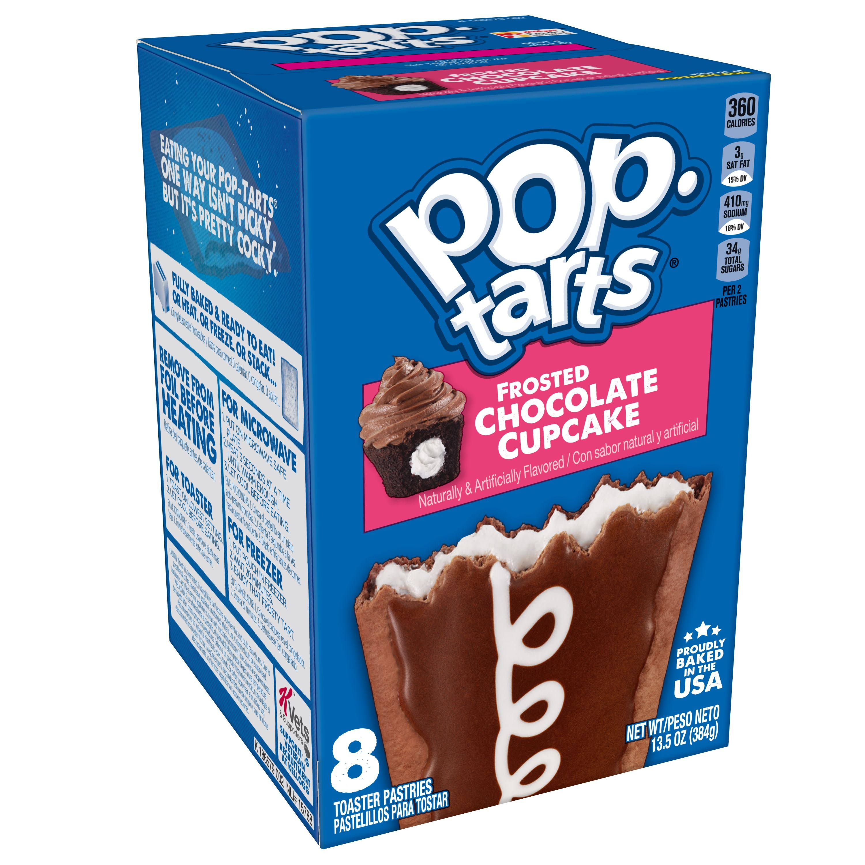 Pop-Tarts Frosted Chocolate Cupcake Pastries - 8ct / 13.5oz