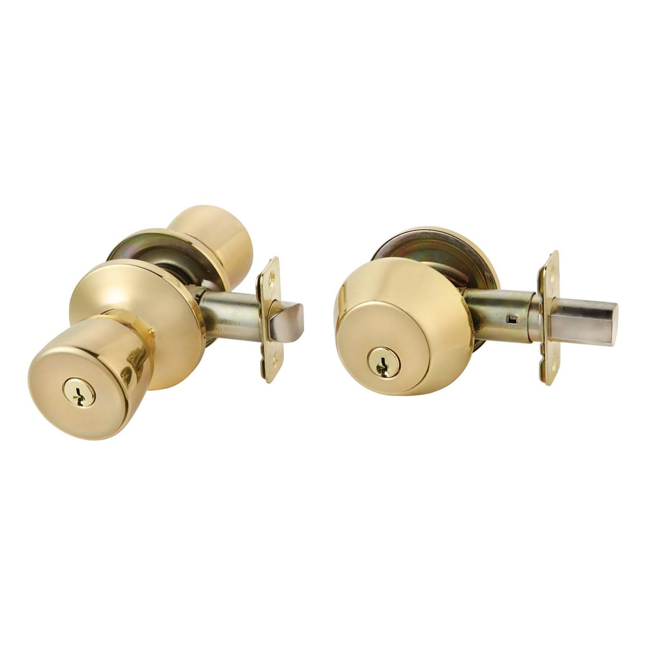 Ace Tulip Style Entry Lock & Single Cylinder Deadbolt