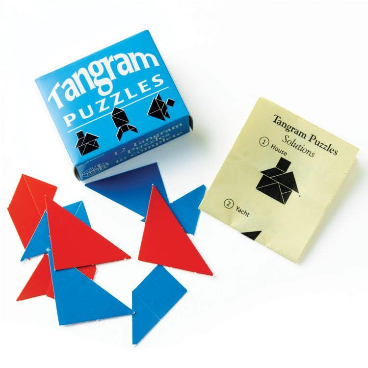 House of Marbles Tangram Puzzles Party Gift Novelty