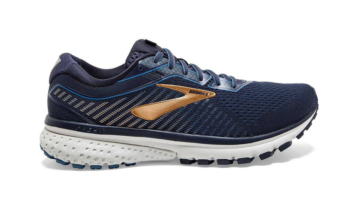 Brooks Ghost 12 Men's - Navy/Gold - 11
