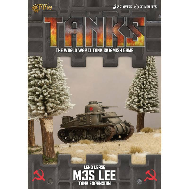 Tanks Soviet Lend-Lease m3s Lee Expansion
