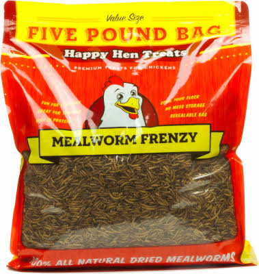 Happy Hen Treats Mealworm Frenzy Pet Treat
