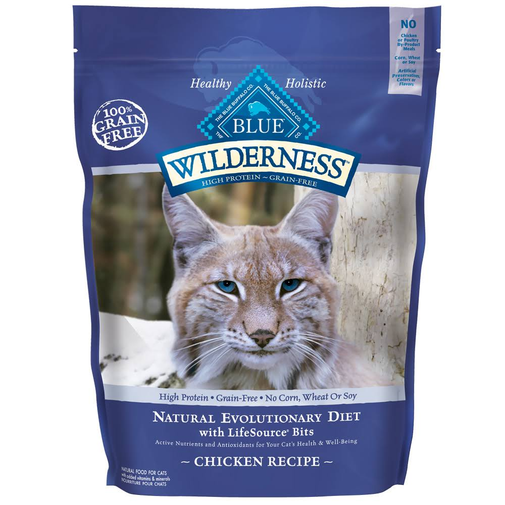 Blue Buffalo Wilderness Chicken Dry Cat Food - 2.5lbs