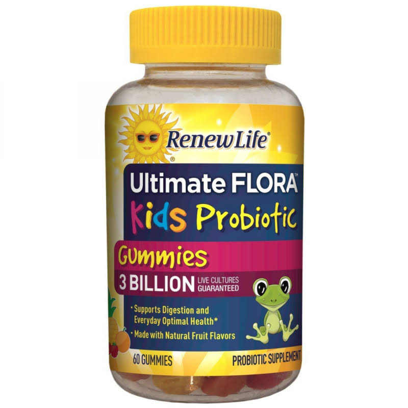Renew Life Ultimate Flora Probiotic Gummies - 60 Gummies