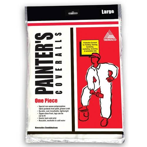 Trimaco Supertuff Painter's Coveralls - Large