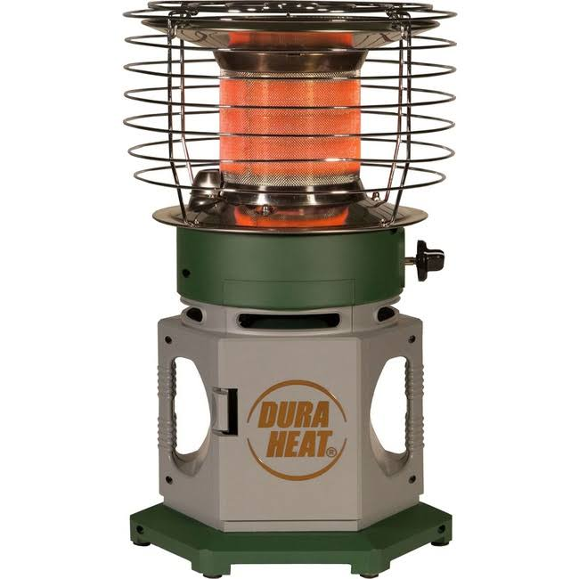 DuraHeat LP18-360 Double Tank Portable 360 Degree Indoor Outdoor Propane Heater