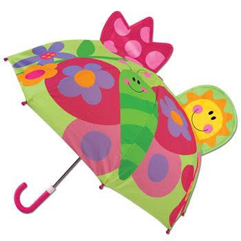 Stephen Joseph Pop Up Umbrella - Butterfly