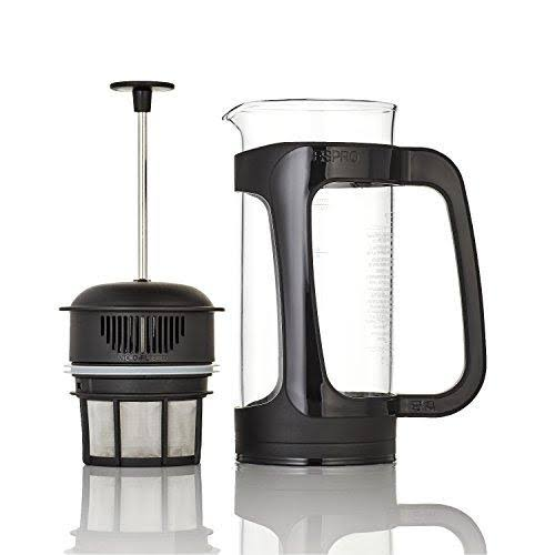 Espro P3 Plastic and Glass Coffee Maker - Black, Large