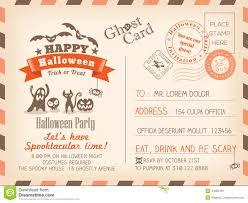 Halloween Potluck Invitation Template Free Printable by Carte D U0027invitation Halloween En Anglais U2013 Fun For Halloween
