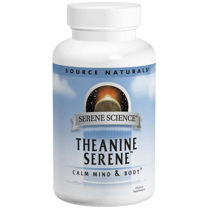 Source Naturals Theanine Serene Supplement - 60 Tablets