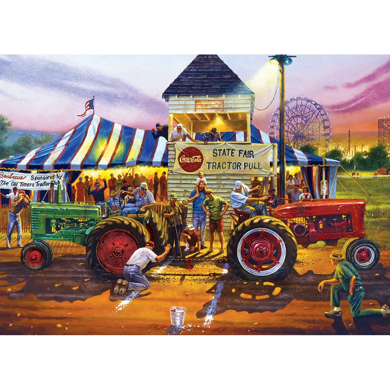 Masterpieces Farm Country - for Top Honors 1000 Piece Puzzle