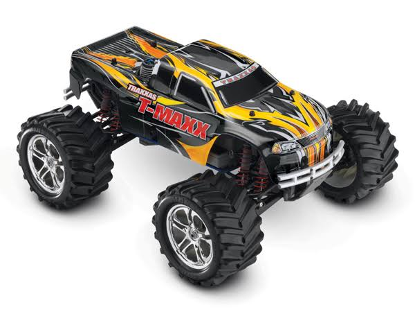 Traxxas T-Maxx Classic: 1/10-Scale Nitro-Powered Maxx Monster Truck