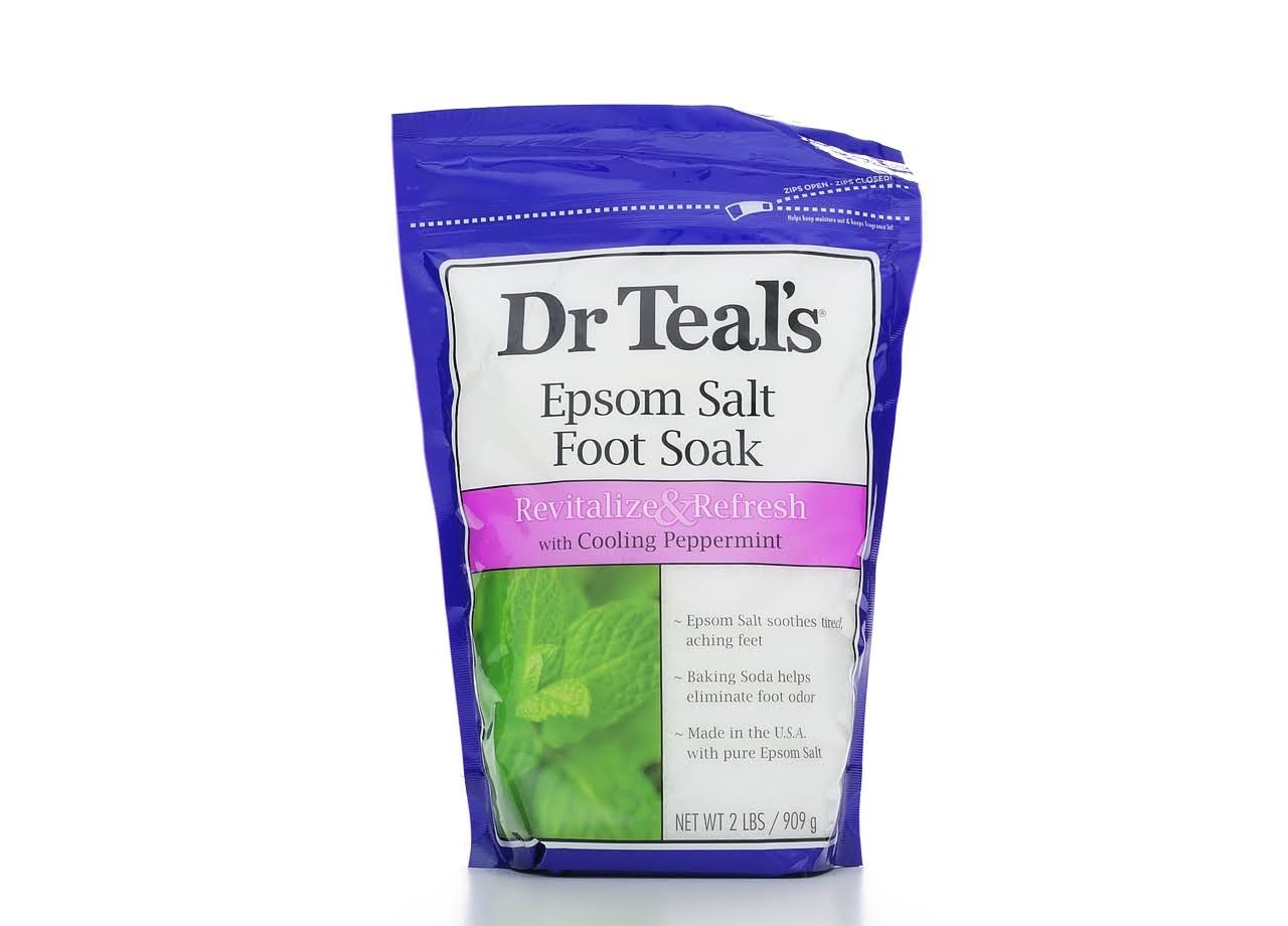 Dr Teal's Pure Epsom Salt Foot Soak - 2lbs