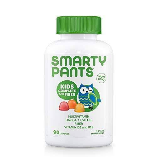 Smartypants Kids Complete Fiber Vitamins Dietary Supplement - 90ct