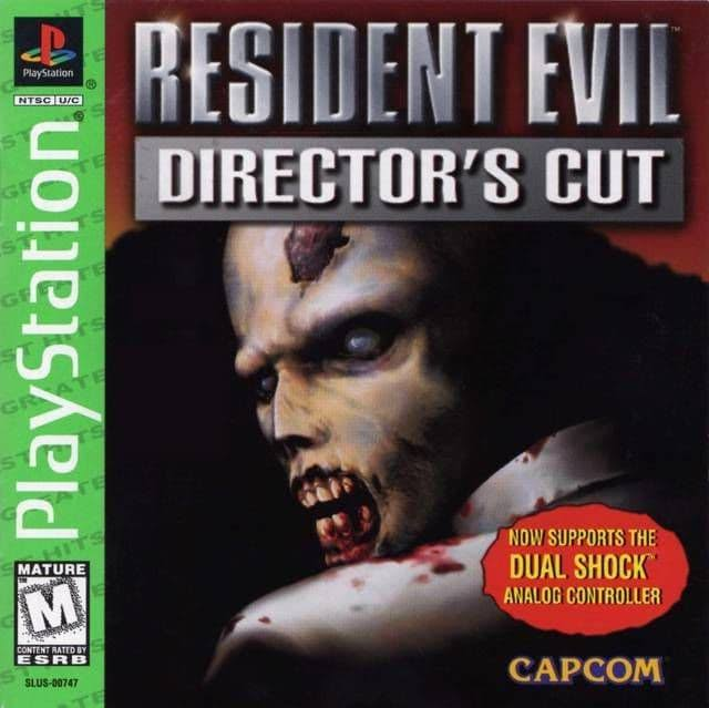 Resident Evil: Director's Cut - PlayStation 1