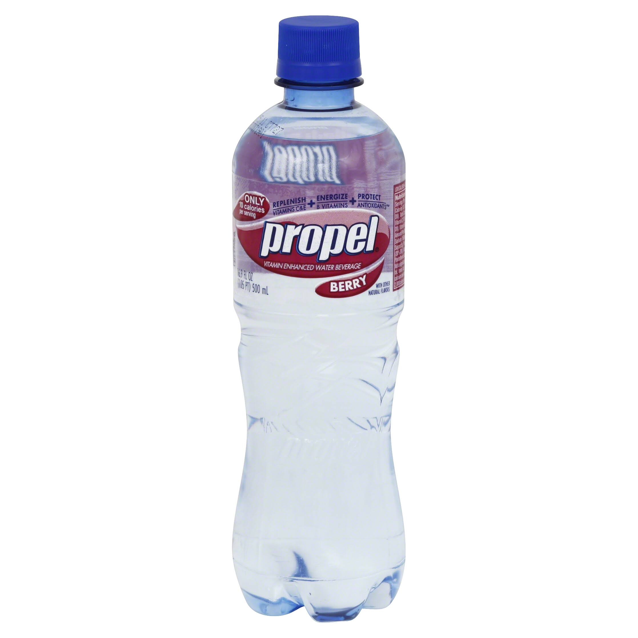 Propel Water Beverage, with Vitamins, Berry - 16.9 fl oz