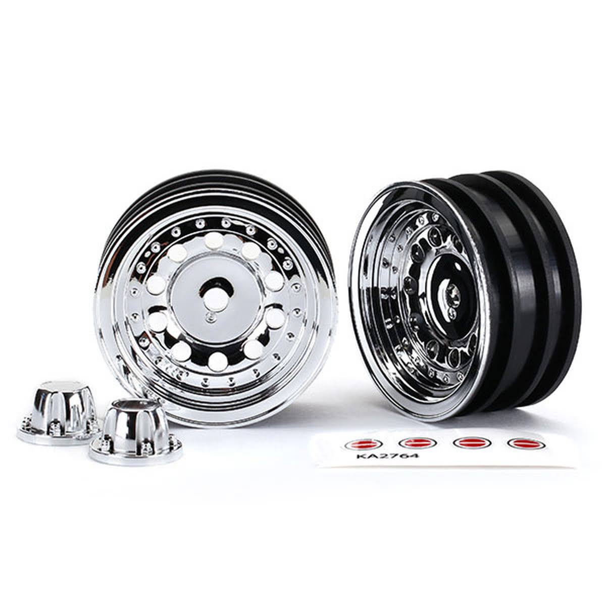 Traxxas Wheels 1.9' Chrome (2) TRA8175