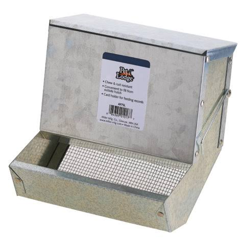 Little Giant Galvanized Rabbit Feeder - 7in