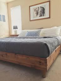 bedroom update king bed diy king beds bedrooms and bed frames