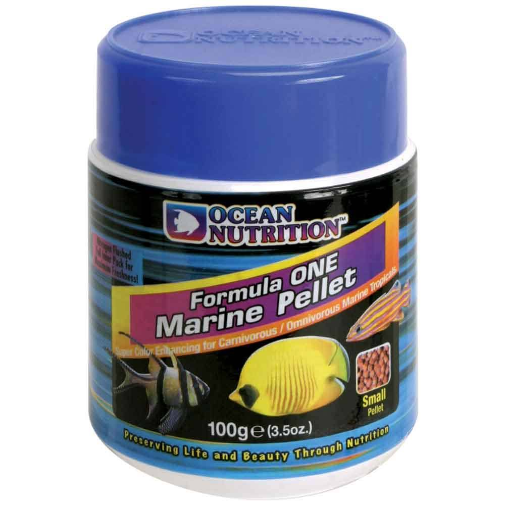 Ocean Nutrition Formula One Two Pellets Small Aquarium Saltwater Fish Food - 100g