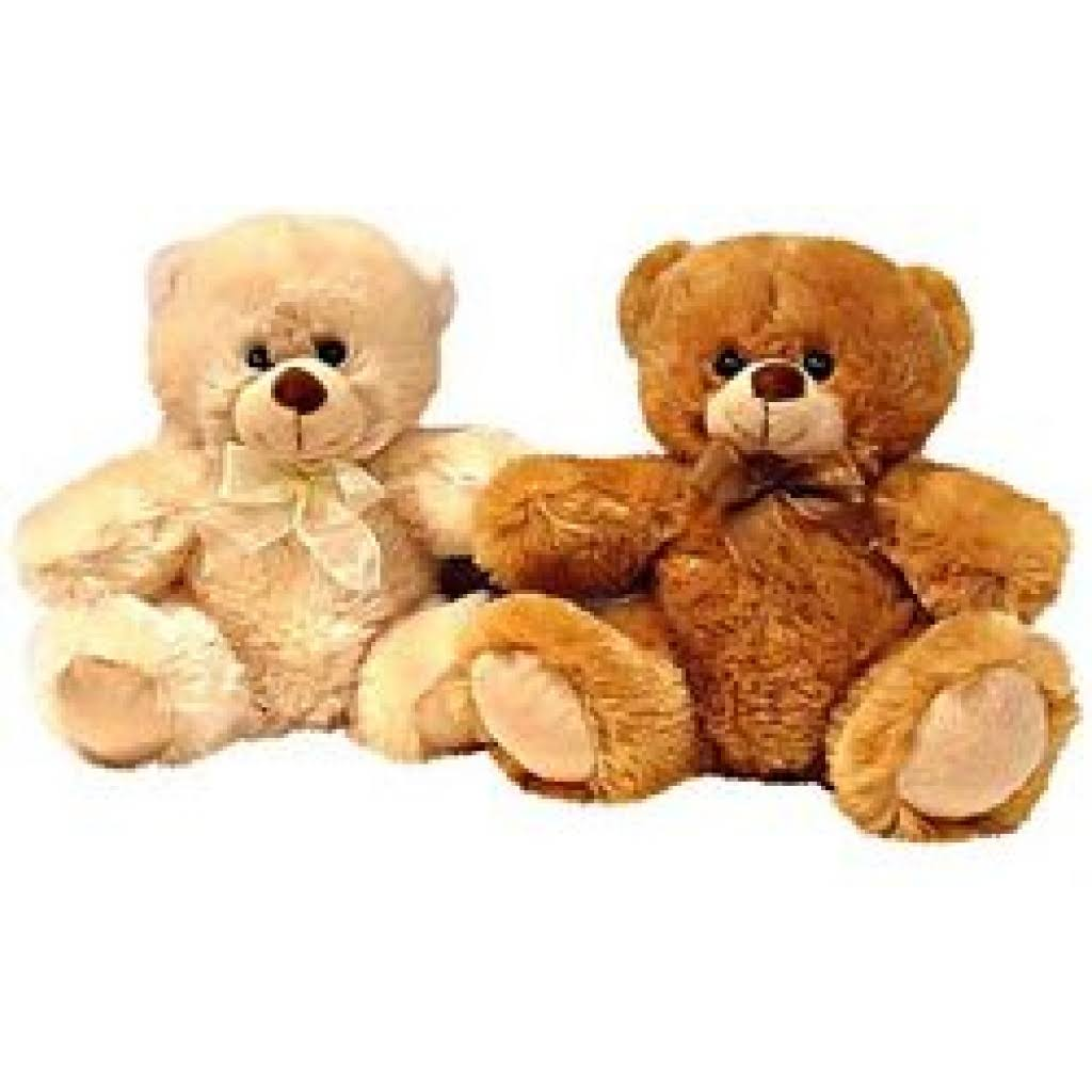 "DDI 10"" 2 Assorted Color Sitting Bears - Case of 24"