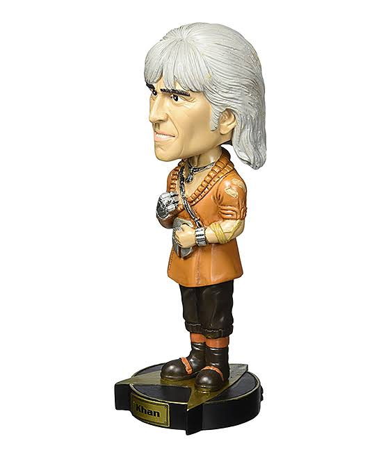 Star Trek II: The Wrath of Khan Khan Bobble Head Figure
