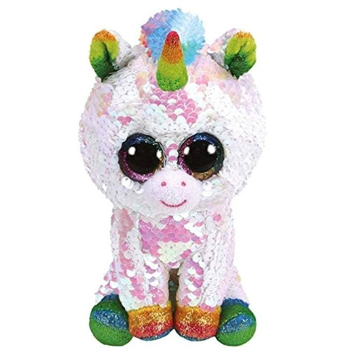 Ty Flippables Sequin White Unicorn - Pixy