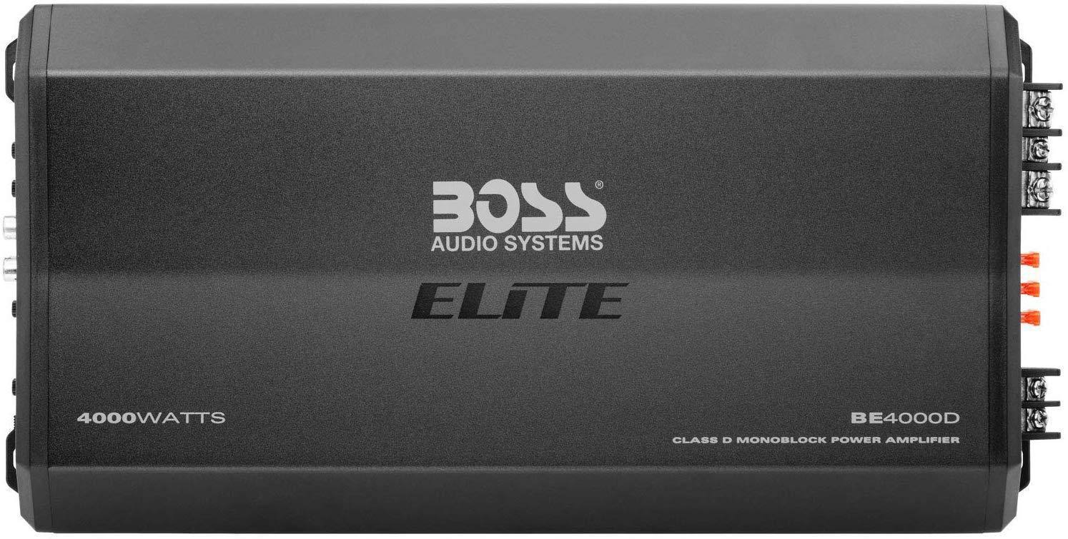 Boss BE4000D Elite 4000W Monoblock, Class D Amplifier