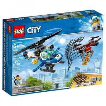 Lego City Sky Police Drone Chase Building Kit - 192pcs