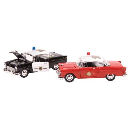 Schylling Die Cast Model Car - Police Fire Bel Air Sty