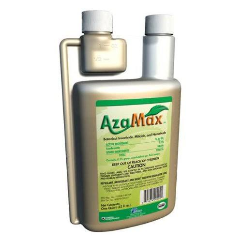 General Hydroponics GH2021 Azamax Antifeedant and Insect Growth Regulator - 1 Quart