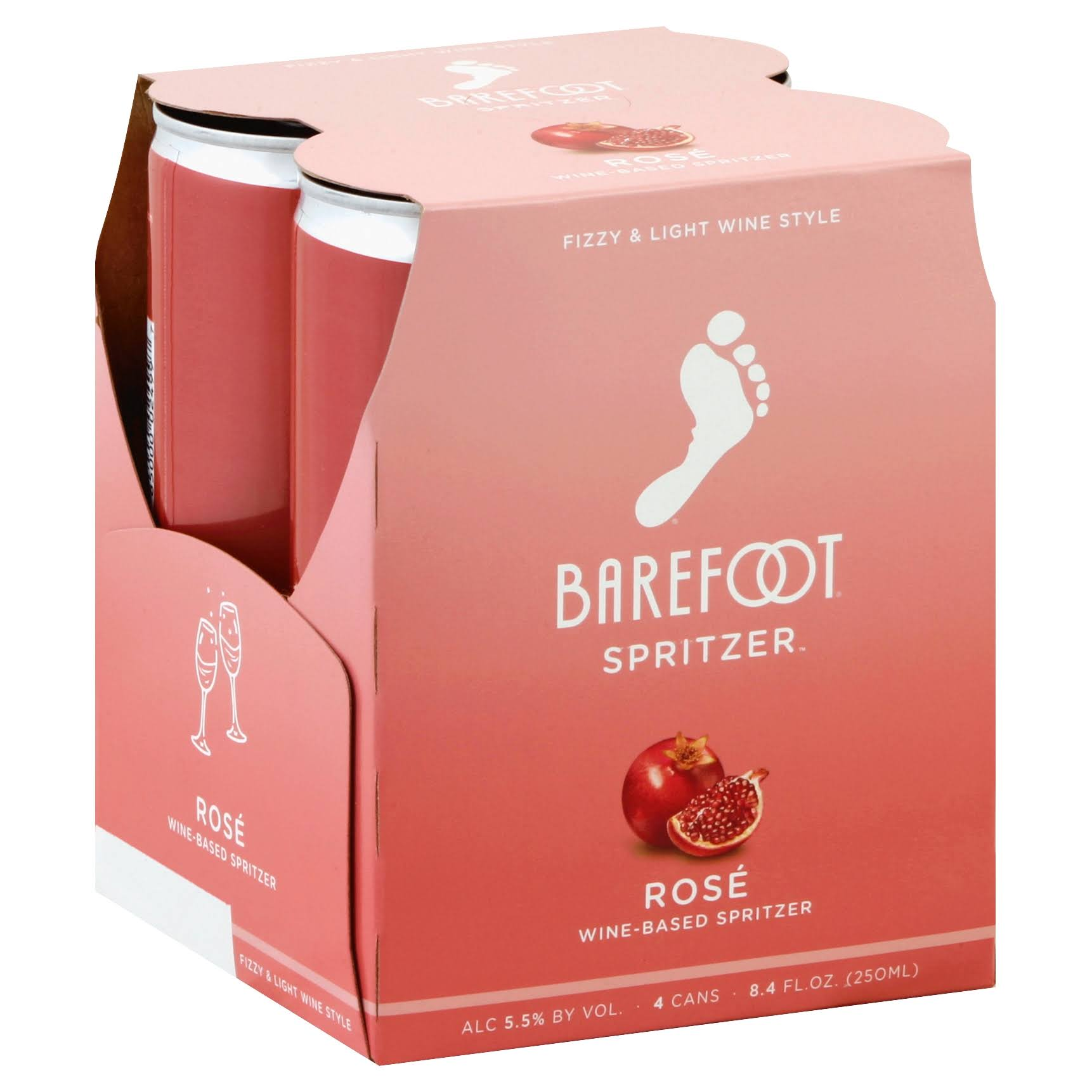 E&J Gallo Winery Barefoot Refresh Rose Spritzer