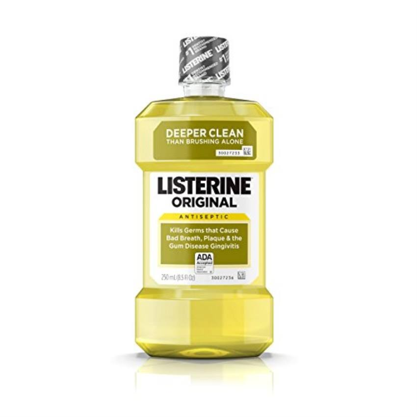 Listerine Antiseptic Mouthwash - 250ml