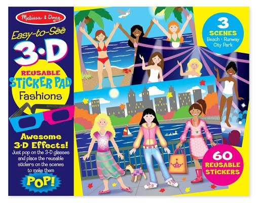 Melissa & Doug Easy-to-See 3D Fashions Puzzle