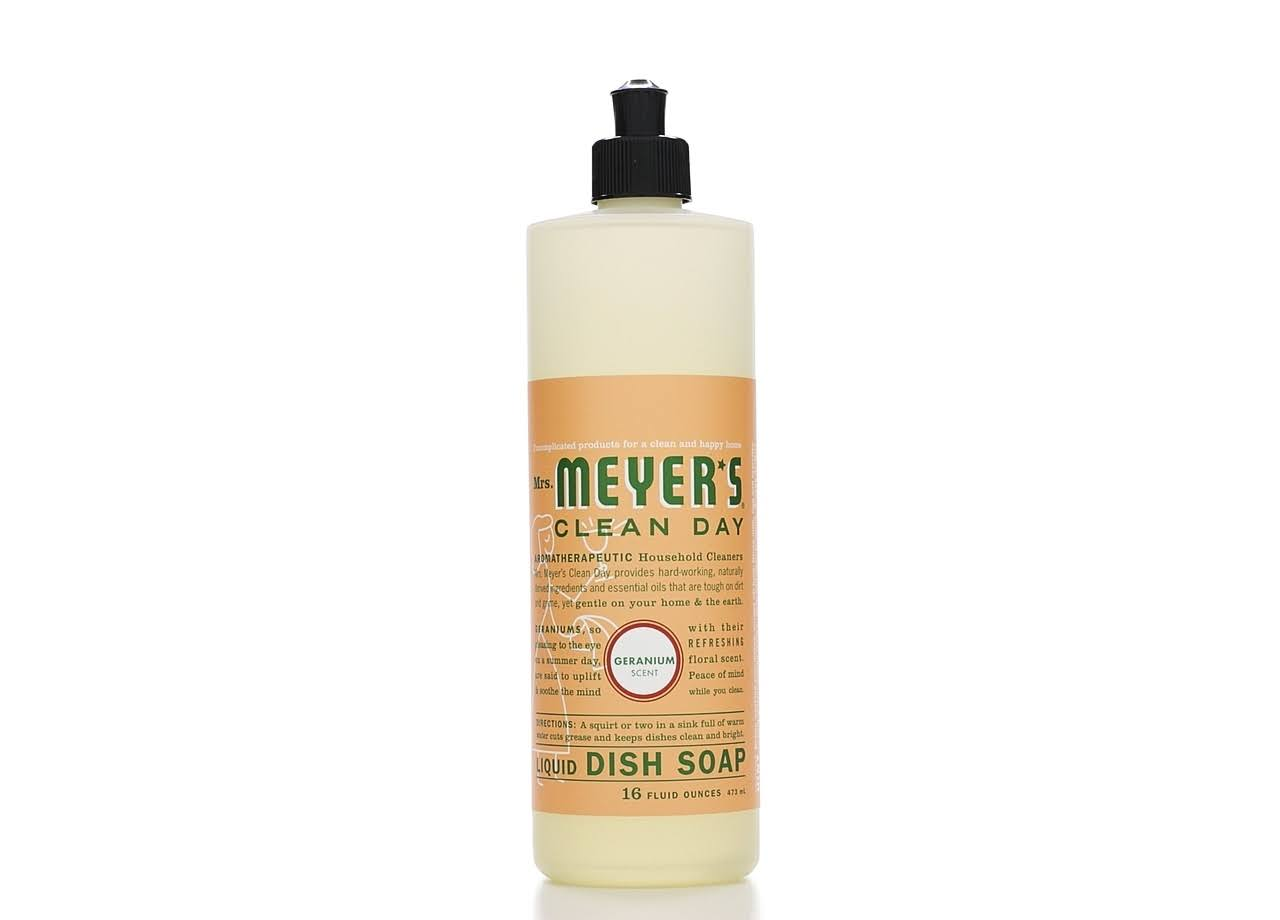 Mrs. Meyers Geranium Dish Soap - 473ml