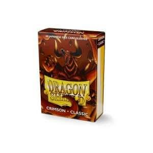 Dragon Shield Sleeves: Classic - Japanese Size - Crimson (60)